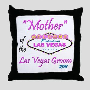 Mother/Groom Throw Pillow