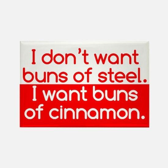 Cinnamon Buns Rectangle Magnet