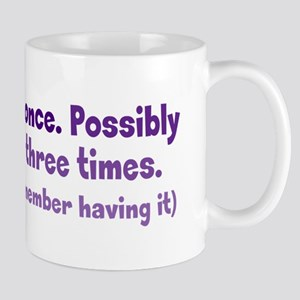 Having Amnesia Mug