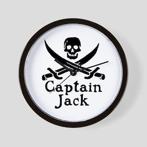 Captain Jack Wall Clock