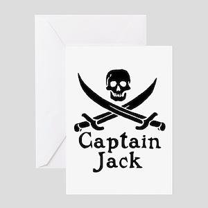 Captain Jack Greeting Card