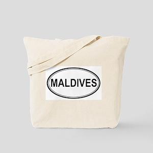 Maldives Euro Tote Bag