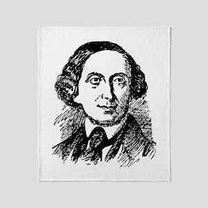 Hans Christian Andersen Throw Blanket