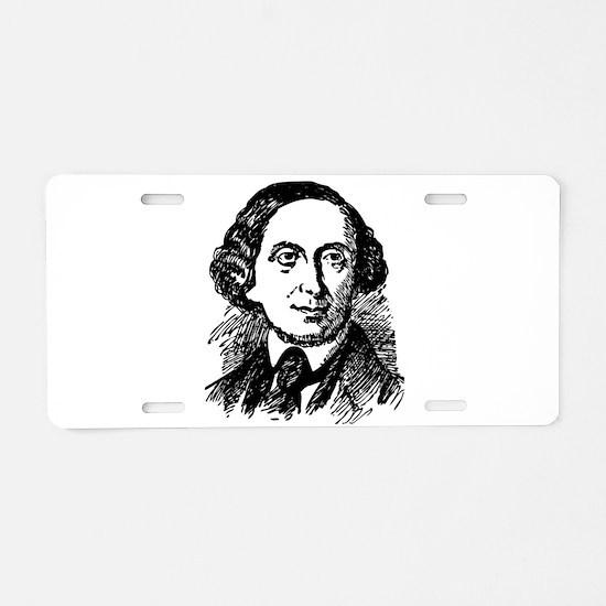 Hans Christian Andersen Aluminum License Plate