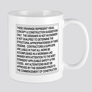 Designer Disclaimer Mug