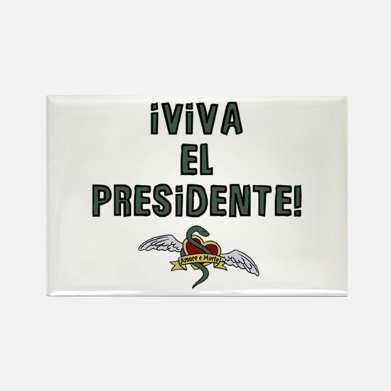 El Presidente Rectangle Magnet