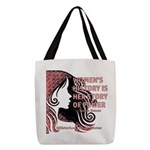 Women's History Polyester Tote Bag