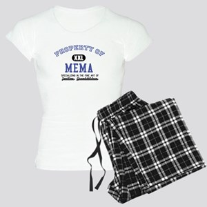 Property of Mema Women's Light Pajamas