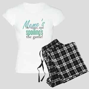 Meme's the Name! Women's Light Pajamas