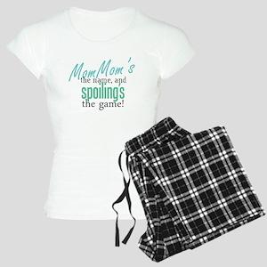 MomMom's the Name! Women's Light Pajamas