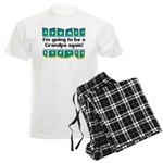 I'm Going to be a Grandpa Aga Men's Light Pajamas