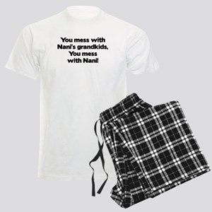Don't Mess with Nani's Men's Light Pajamas