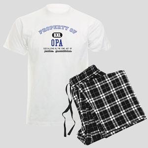 Property of Opa Men's Light Pajamas