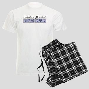 World's Greatest PapPap Men's Light Pajamas