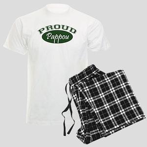 Proud Pappou (green) Men's Light Pajamas