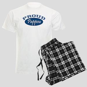 Proud Pappou (blue) Men's Light Pajamas