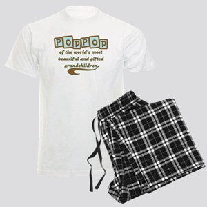 PopPop of Gifted Grandchildre Men's Light Pajamas