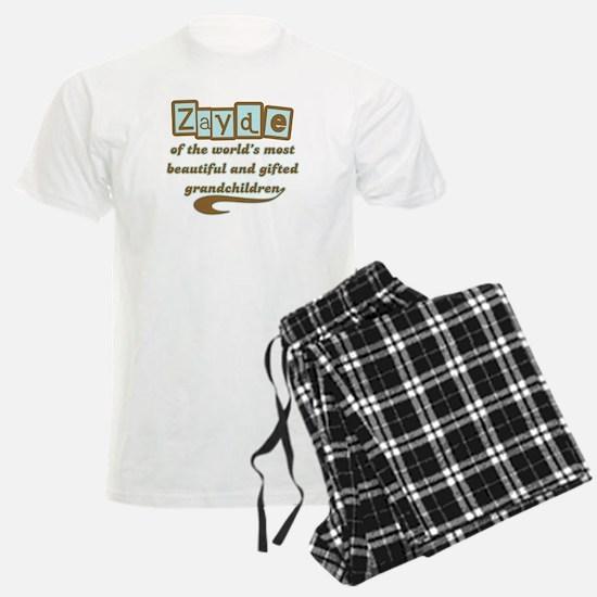 Zayde of Gifted Grandchildren Pajamas