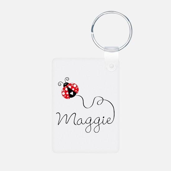 Ladybug Maggie Keychains