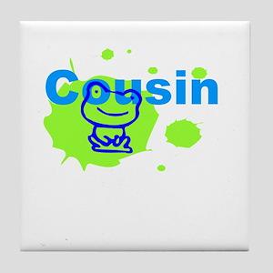 Cousin Gift Tile Coaster