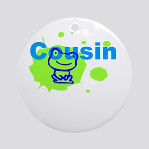 Cousin Gift Ornament (Round)