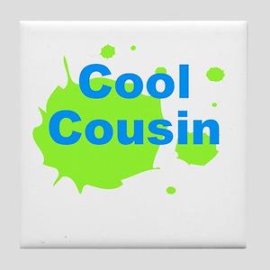 Cool Cousin Tile Coaster