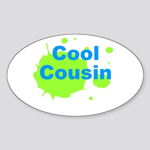 Cool Cousin Sticker (Oval)
