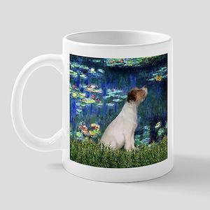 Jack Russell & Lilies Mug