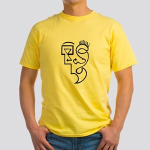 Symbol Face Yellow T-Shirt