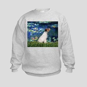 Jack Russell & Lilies Kids Sweatshirt