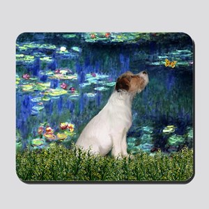 Jack Russell & Lilies Mousepad