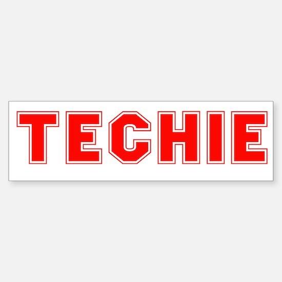 Techie Sticker (Bumper)