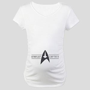 Starfleet Captain Maternity T-Shirt