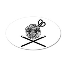 Pirate Crochet Wall Decal