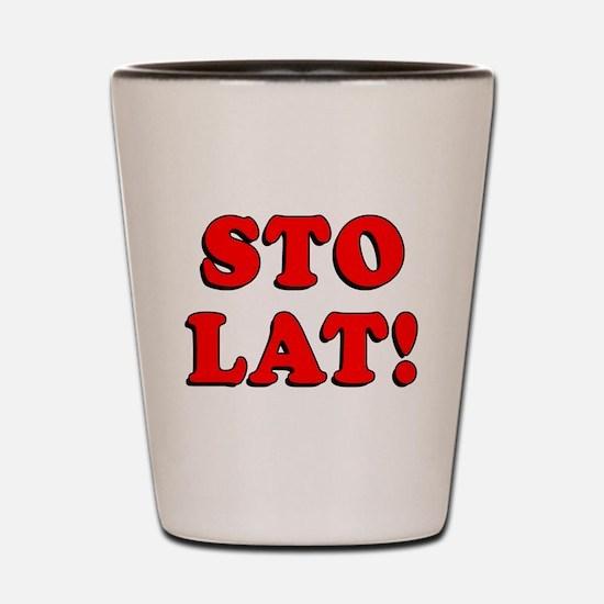 Sto Lat Polish Shot Glass