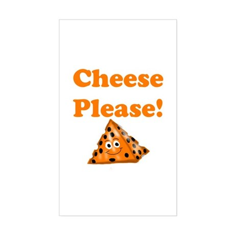 Cheese Please! Sticker (Rectangle)