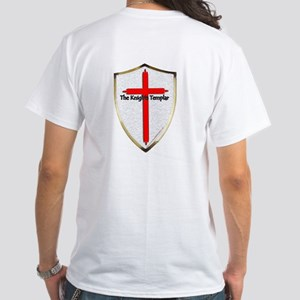 Templar Knights.com White T-Shirt