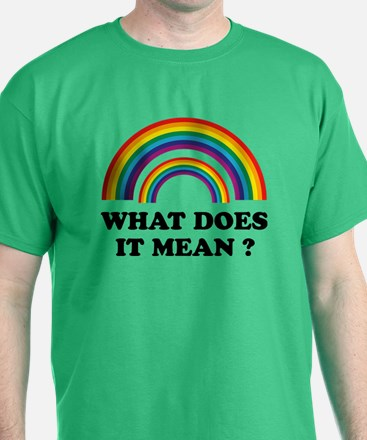 What does it mean ? T-Shirt