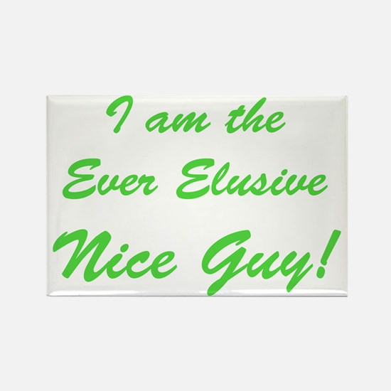 Cute Nice guy Rectangle Magnet