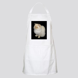 Zeus the White Himalayan Cat  BBQ Apron