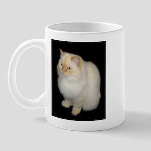Zeus the White Himalayan Cat  Mug