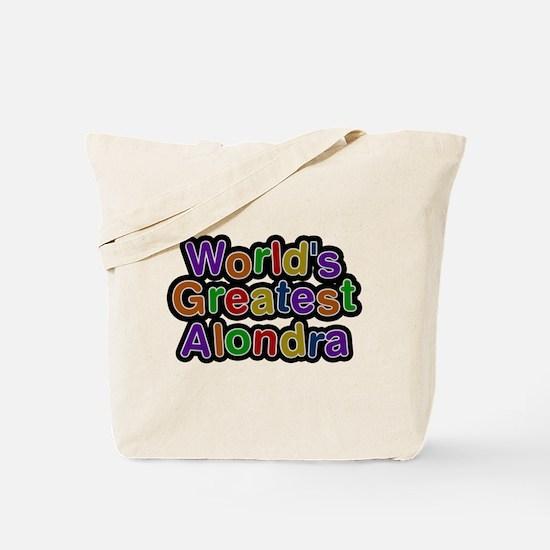 Worlds Greatest Alondra Tote Bag