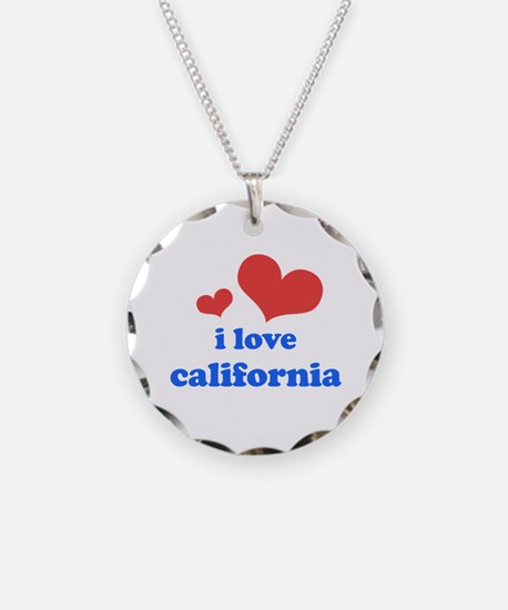 I Love California Necklace