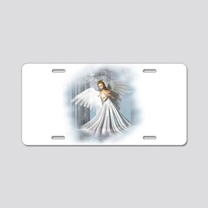 Angelic Beauty Aluminum License Plate