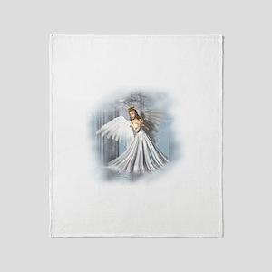 Angelic Beauty Throw Blanket