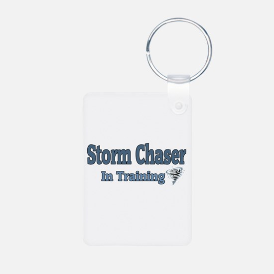 Storm Chaser In Training Keychains
