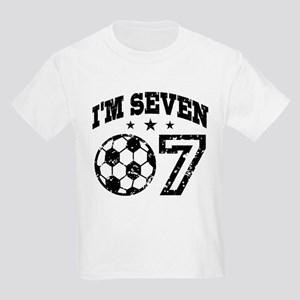 Seven Year Old Soccer Kids Light T-Shirt