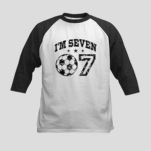 Seven Year Old Soccer Kids Baseball Jersey