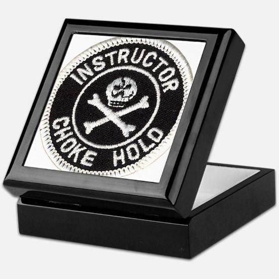 Choke Hold Instructor Keepsake Box