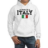 Id rather be in italy Light Hoodies